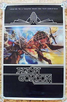 Flash Gordon (1980) Original Advance Movie Poster  - Rolled  -  Castle Artwork