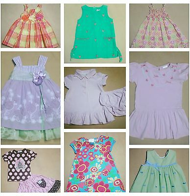 Used Children's Girl's Clothes 30 Pieces Wholesale