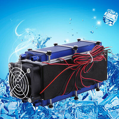 576W 8-Chip TEC1-12706 Thermoelectric Cooler Radiator Air Cooling Device GLF