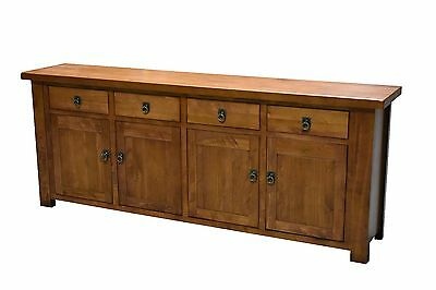 4 draw 4 door Buffet Cabinet Sideboard Hall Table Solid Mountain Ash Timber