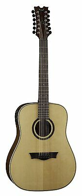 Dean NSD12GN 12 string acoustic electric guitar with pickup