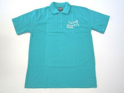 Personalised Embroidered Shirt with your choice of Horse Design in Jade Green