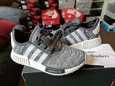 ADIDAS NMD R1 W Utility Grey Olive Maroon 3M Women's Nomad Runner BA7752 LIMITED