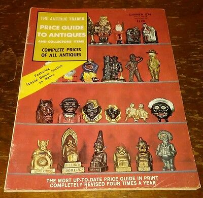 Price Guide to Antiques Trader Magazine SUMMER 1974 FOCUS: BANKS