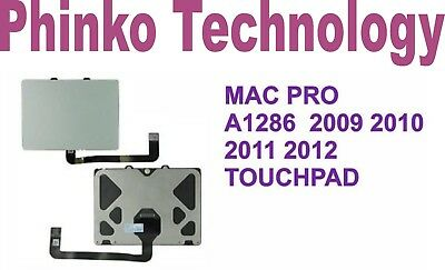 "Genuine Trackpad Touchpad fit Apple Macbook PRO A1286 15"" 2009 2010 2011 2012"
