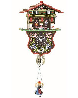 Black Forest Clock Swiss House Weather House TU 808 S