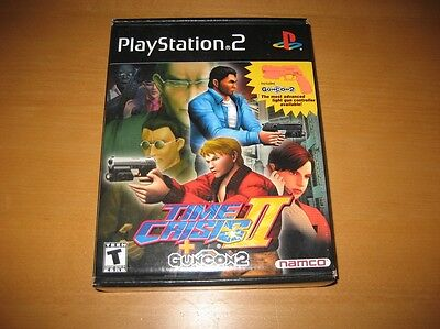 Time Crisis II Guncon 2 PlayStation 2 PS2 Namco Brand New