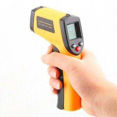Non-Contact Laser LCD IR Infrared Termometro Digital Surface Thermometer GM320