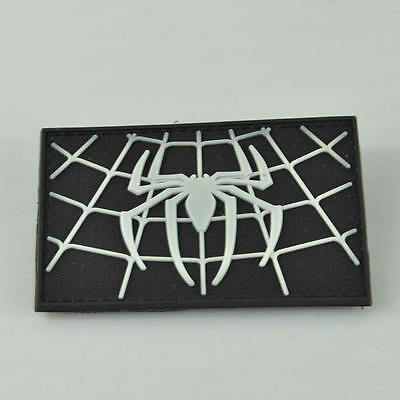 Tactical Creative Morale New Combat Patch Rubber PVC Spider 3D Military Badge