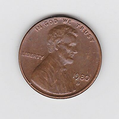 1980D Usa One 1 Penny/cent