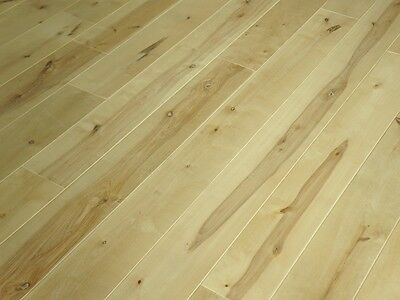 Solid Nordic Birch Hardwood Flooring Wood Boards Rustic 20x140mm unfinished