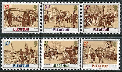 1987 Gb Isle Of Man Victorian Douglas Set Of 6 Fine Mint Mnh/muh