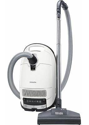 Miele Complete C3 Turbo Vacuum Cleaner White with Turbo Brush RRP $549