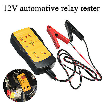 12V Automotive Relay Tester Detector For Universal Cars Auto Battery Checker