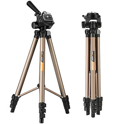 Professional Camera Tripod Stand &Pan Head for for Canon Nikon Sony DSLR Camera