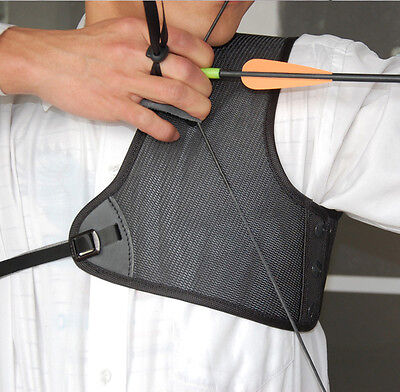 Archery Chest Protector Guard Adjustable for Compound Bow Recurve Bow Hunting