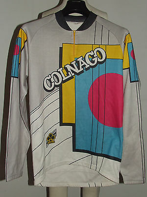 MAGLIA BICI CICLISMO SHIRT MAILLOT CYCLISM SPORT COLNAGO INVERNALE tg. XXL
