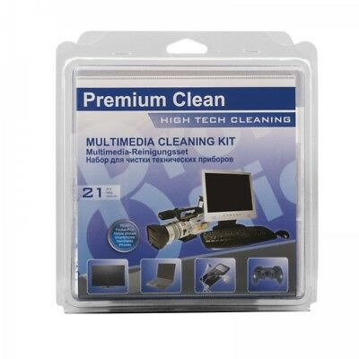 ProfiOffice Premium Clean Multi Media Reinigungsset 21-teilig TFT LCD PC Laptop