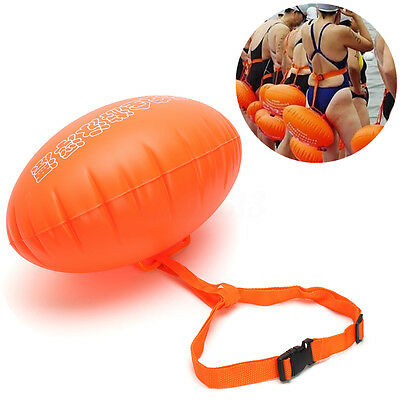 Sports Safety Swim Buoy Swimming Upset Inflated Device Flotation for Open Water