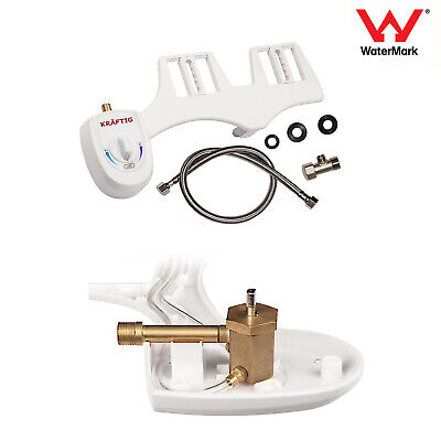 Toilet Bidet Seat Spray Istinja Water Bathroom Home Sanitation Single Nozzle New