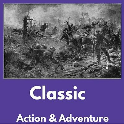 ACTION & ADVENTURE e-Book Collection Kindle eReader Nook Kobo|BONUS|Data DVD