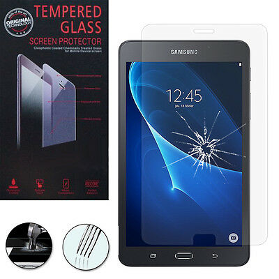 "Lot/ Pack Film Verre Trempe Protection Samsung Galaxy Tab A6 7.0"" SM-T280NZKAXEF"