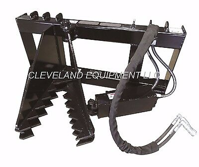 NEW HD TREE & POST PULLER ATTACHMENT Skid Steer Loader Bush