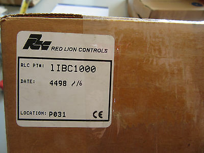 Red Lion 1IBC1000 Panel Mount Digital Counter NEW!!! in Box Free Shipping