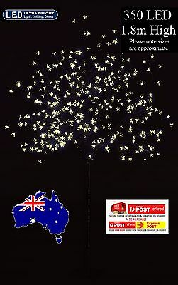 1.8M 350Led Warm White Cherry Blossom Christmas Outdoor Tree