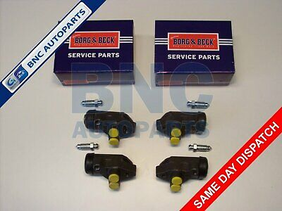 FRONT WHEEL CYLINDER SET OF FOUR  for FORD ESCORT MK 1 - BORG & BECK