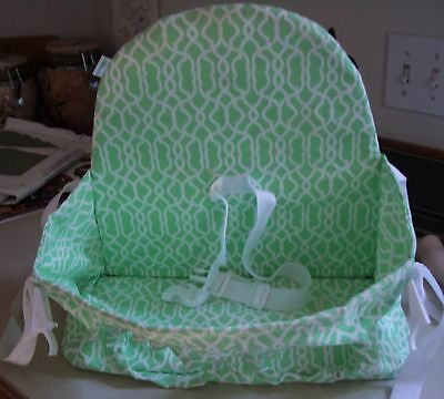 Buggy Bench Shopping Cart Seat in Pastel Green for Twins Toddlers Baby
