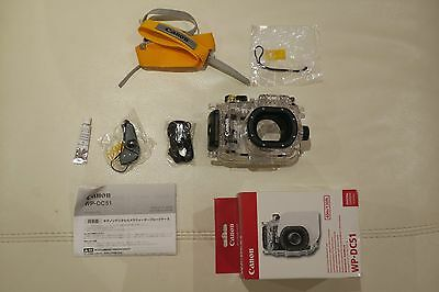 Original Canon WP-DC51 Waterproof Case for PowerShot S120 (Used only once!)