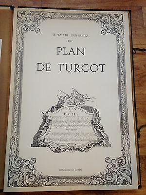 Plan de turgot / Louis Bretez