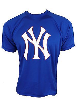 MLB New York NY Yankees maillot tee-shirt bleu gr.s