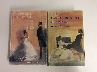 Anthony Trollope x2 - Framley Parsonage & The Last Chronicle Of Barset