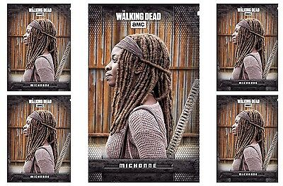 5x WARSONG BLACK MICHONNE The Walking Dead Card Trader Digital