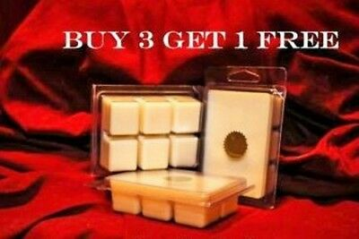 Soy Wax Clamshell Break Away Tart Melt Wickless Candle - (BUY 3 GET 1 FREE ) # I