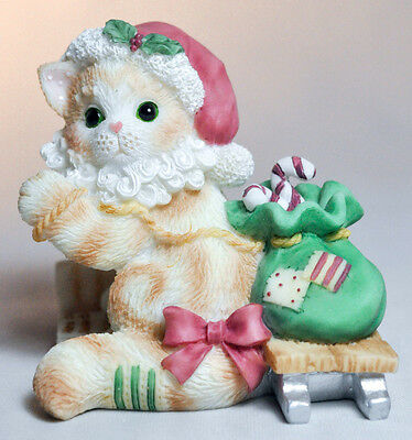 Calico Kittens: Here Comes Santa Claus - 542563 - Kitten Santa with List