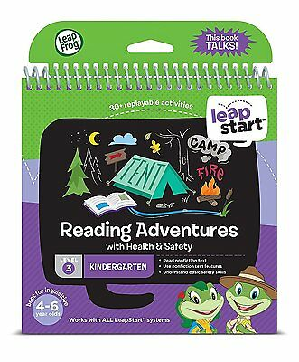 LeapFrog LeapStart Level 3 Activity Book Reading Adventures with Health & Safety
