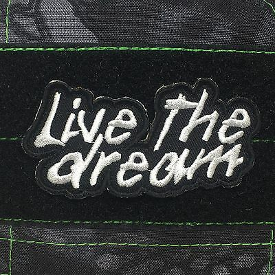 Tactical Outfitters Live the Dream Morale Patch Delorean - Adventure motivation