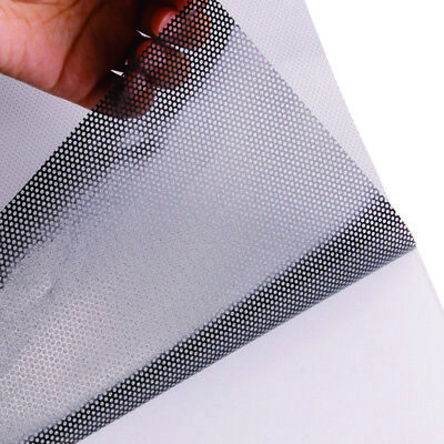 "150' x 60"" Perforated one way vision vinyl printing decal for window Roll"