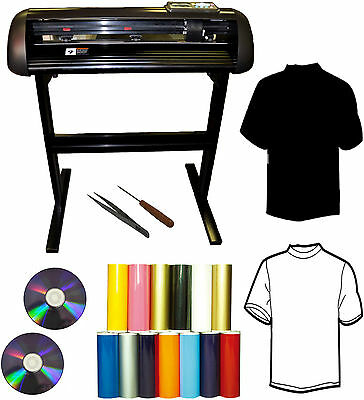 "24"" 1000g T-shirt Heat Press Transfer Vinyl Cutter Plotter,Sign,Decal,PU Vinyl"