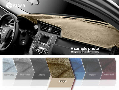 Beige Dashboard Pad Mat Dash Cover For 2013-2018 Ford Fusion