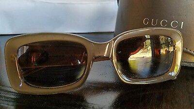 98a63c8a654eb VINTAGE AUTHENTIC GUCCI sunglasses GG 2407 S 9BY Frame ONLY -  55.00 ...