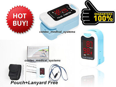 US Sell Fingertip Blood Oxygen Meter SPO2 Pulse Oximeter LED Heart Rate Monitor