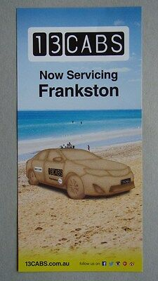 13CABS Now Sevicing Frankston Brochure