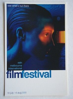 49th MELBOURNE INTERNATIONAL FILM FESTIVAL 2000 AVANT CARD #4514 POSTCARD