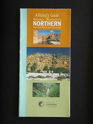 A Visitor's Guide To Western Australia's Northern National Parks 2003 Map