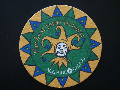 Adelaide Casino The Best Party In Town Orange Green Coaster