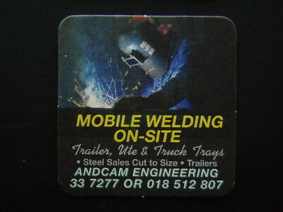 Andcam Engineering Mobile Welding On-Site 337277 Coaster